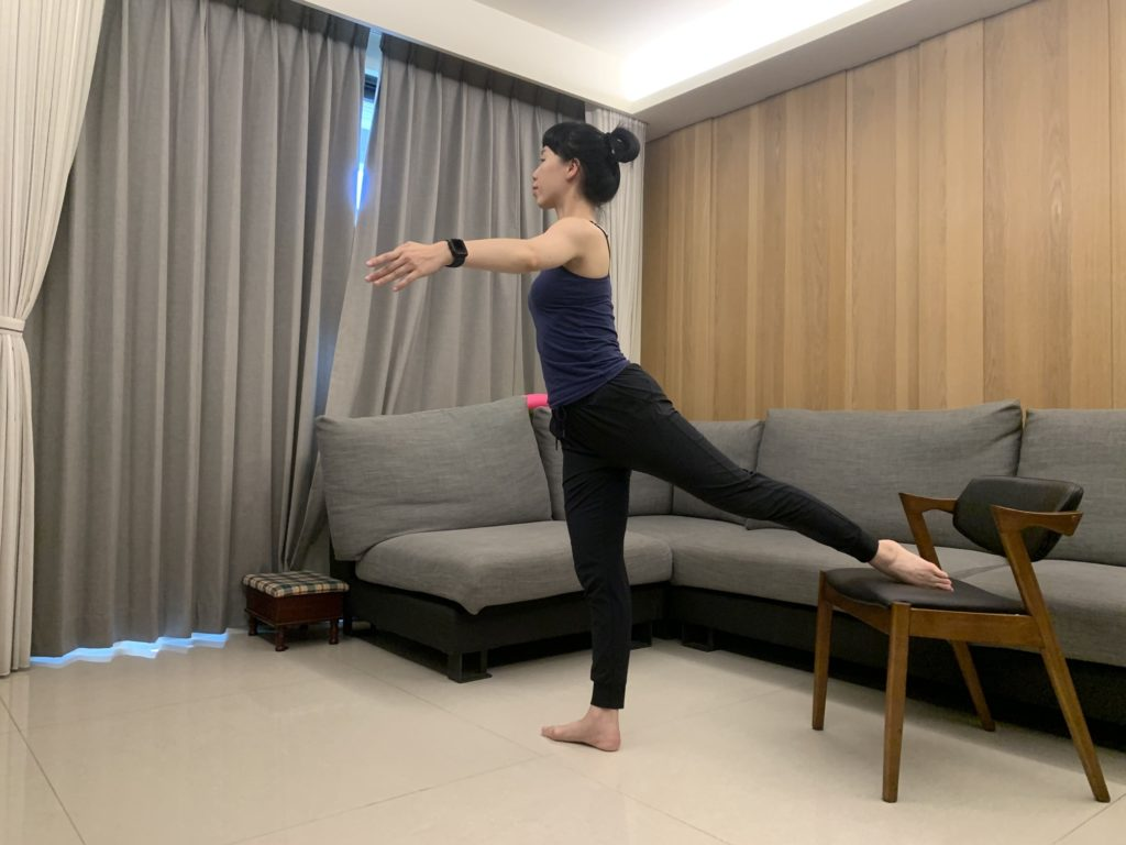 芭蕾平衡感