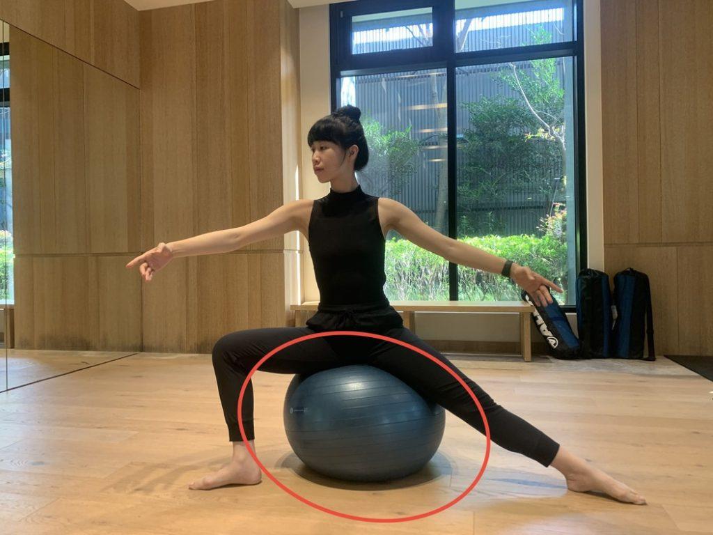 芭蕾重心轉換
